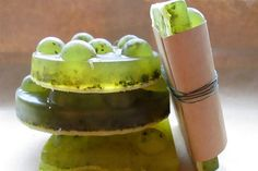 Homemade Mojito Soap Craft & Gift Idea. Great party favors for summer parties!