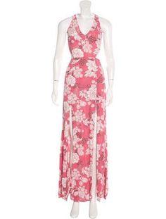 Reformation Cutout Maxi Dress