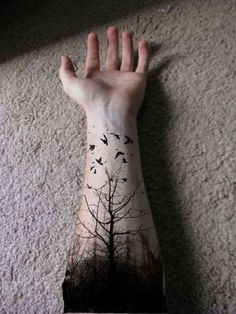 Epic Nature Themed Tattoos