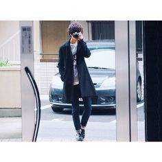 acdc_gk厚手のステンカラーコートを着る時期が恐らく過ぎてwearに載せるタイミングも逃してしまったコーデ ・ #げんじ撮り ・ coat/pants⇨#studious  sweat⇨#beams shoes⇨#drmartens ・  #ootd #outfit #fashion #code #coordinate #mensfashion #OLYMPUS #olympus倶楽部  #wear #wearista #wearコーデ #今日のコーデ #今日の服 #ファッション #コーデ #コーディネート #メンズファッション #ミラーレス #mn_snap #芸人 #ステンカラーコート #お洒落さんと繋がりたい #写真好きな人と繋がりたい #早く寝よう