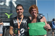 Shayley Bourget and Alan Ashby // Of Mice & Men