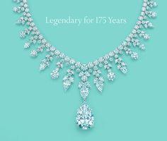 gorgeous tiffany diamond necklace