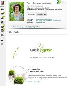 Webgras - #XING Profil Konzept