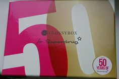 Teacups and Buttondrops: GlossyBox: Superdrug turns 50!