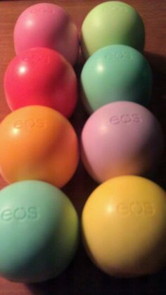 EOS Organic lip balm!! I'm such an EOS lip balm junkie! I keep mine in the freezer and take one out every morning. Soo cool and refreshing esp on hot summer days!