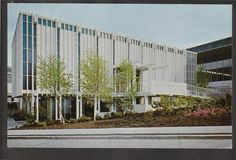 1962 Christian Science Exhibit Seattle World's Fair Exposition Stamp Postcard