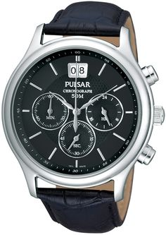 Buy Pulsar PU5005 Chronograph Mens Watch from uhrcenter Watch Shop. ✓Official Pulsar Stockist!