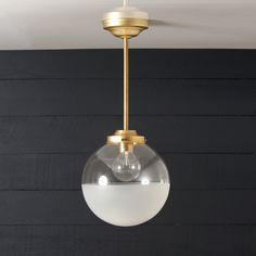 This Vintage Brass Wall Sconce fixture features-Raw Brass Mount-Raw Brass pipe-Milk Glass / 220 Watts Max-UL Listed-Mounting Bracket and Screws Included Size - Projection X 11 in HeightBase Size - Diameter-Light bulb not included. Glass Globe, Lighting Inspiration, Brass Wall Sconce, Light Fixtures, Home Lighting, Lights, Bathroom Light Fixtures, Light, Brass Pendant