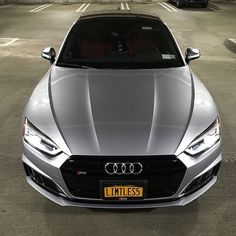 Looks stunning - this black optics grill blends in perfectly with the silver Audi Sportback photo ---- oooo - what else ---- . Audi Rs5 Sportback, Audi S5, Audi Cars, Lamborghini Aventador, My Ride, Hot Cars, Audi Quattro, Dream Cars, Super Cars