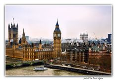 The Palace of Westminster with Elizabeth Tower