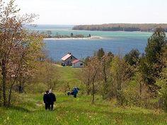 Rock Island State Park, Door County, Wisconsin.