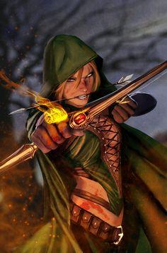 Newsarama.com : Exclusive Zenescope Teasers: ROBYN HOOD Draws Her Bow
