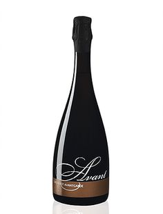 Botella realizada en serigrafía de vidrio por Serivid Trade para Avant Cava www.serivid.com