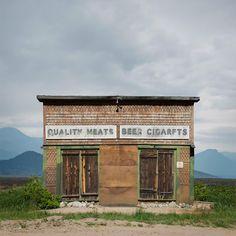 Miss Moss · Ed Freeman: Western Realty Minimal Photography, Color Photography, Landscape Photography, Abandoned Buildings, Abandoned Places, Ed Freeman, Photo Ed, Miss Moss, Construction