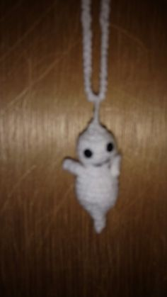 Crochet ghost ornament