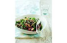 Green bean, red rice and almond salad from French Market Cookbook by Clotilde Dusoulier | The Gazette