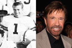 Chuck (Carlos) Norris THEN: Chuck (Carlos) Norris, Senior Year 1958 North Torrance HS, Torrance CA