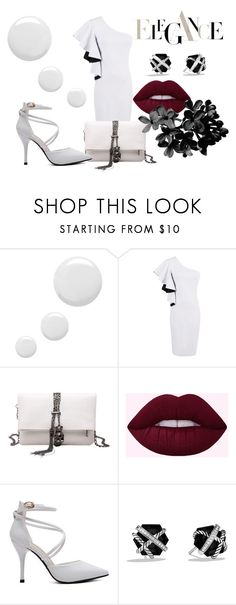 """""""Elegance #42"""" by mercija ❤ liked on Polyvore featuring Topshop and David Yurman"""