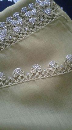 Crochet Shell Stitch Lots Of Fabulous Free Patterns - Crochet Ideas - Louisa Crochet Edging Patterns, Crochet Borders, Hand Embroidery Patterns, Lace Patterns, Crochet Designs, Beaded Embroidery, Embroidery Designs, Knitting Patterns, Sewing Patterns