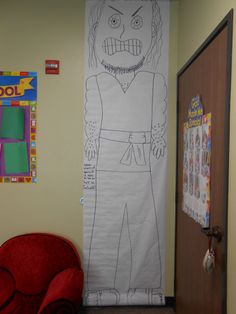 Make A Large Goliath 96 On Your Sunday School Wall