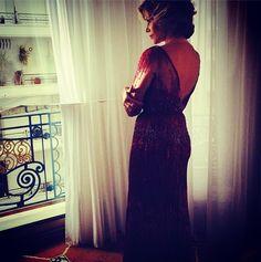 Jane Fonda in the Elie Saab suite cannes - 2014