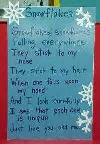 pinterest bulletin board ideas with snowflakes and a poem - Bing Images