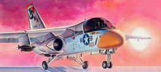 Lockheed S-3A Viking (Shigeo Koike) Hobby Kits, Viking Art, Military Jets, Aviation Art, Present Day, Box Art, Airbrush, Vikings, Aircraft