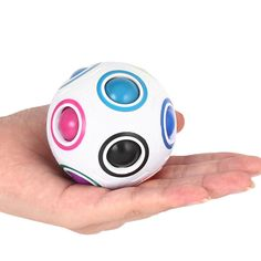 Magic ball Rainbow Spherical Magic Cube ball Anti Stress Rainbow Puzzles Balls Kids Educational Toys For Children Fidget Cube Educational Toys For Kids, Kids Toys, Dancing Toys, Puzzles 3d, Rainbow Magic, Fidget Cube, Smart Robot, Anti Stress, Christmas Gift For You