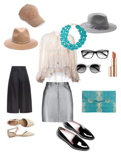"""""""To the sea"""" by mooltfilm ❤ liked on Polyvore featuring Kayu, Gap, Valentino, Chloé, Pierre Balmain, Ace, rag & bone, Michael Stars, Banana Republic and Ralph Lauren"""