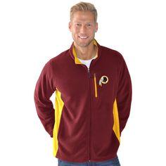 Washington Redskins G-III Sports by Carl Banks Instant Replay Micro-Fleece Jacket - Burgundy - $74.99