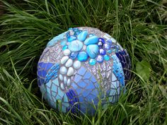 The Blue Ball. some beautiful mosaics on this site.