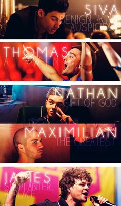 Siva: Benign | Kind | Auspicious Thomas/Tom: The Twin Nathan: The Gift Of God Max: The Greatest Jay: Supplanter | Replace  Ladies & Gentlemen, The Wanted <3