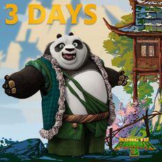 Po and Pandas from Kung Fu Panda Desktop Wallpaper