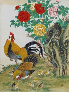 Minhwa 민화 (Korean traditional folk paintings)