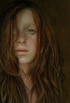 "Saatchi Online Artist: Brian Scott; Colored Pencils, 2013, Drawing ""Distant"""