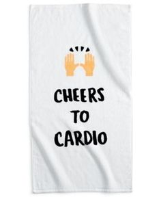 Celebrate Shop Gym Towel, Only at Macy's  -