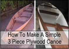 I have to say that the build tutorial for this three piece, flat-bottom canoe is one of the best build tutorials I have ever come across! Now I am not going to say this is an easy build, but by normal canoe building standards, this is a very simple canoe to build. It is essentially …