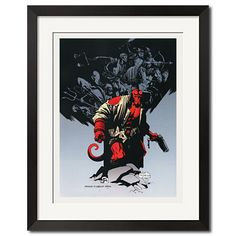 Hellboy The Wolves of Saint Urban Comic Art Poster Print