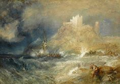 Vista del castillo. Turner