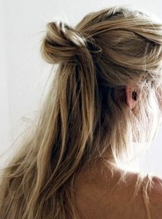 low half knot #hair