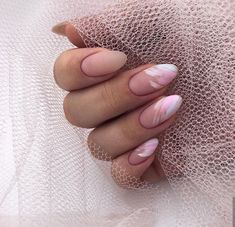 Want to know how to do gel nails at home? Learn the fundamentals with our DIY tutorial that will guide you step by step to professional salon quality nails. Nagellack Design, Nagellack Trends, Oval Nails, Pink Nails, Glitter Nails, Nails Ideias, Short Almond Nails, Fall Almond Nails, Almond Nails Designs