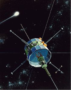 ISEE-3 makes lunar flyby, heads back into deep space By David Szondy August 10, 2014 Despite efforts by the ISEE-3 Reboot Project to restart the ISEE-3's propulsion system, the unmanned probe has now been hurled back into deep space after a lunar flyby.