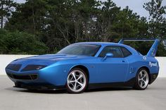 Plymouth Superbird Recreation on Dodge Challenger SRT8