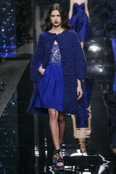 WoolCotton&Dreams: Ermanno Scervino Fall 2015 Ready-to-Wear. Crochet coat.