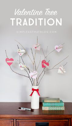 Encourage expressions of love and kindness leading up to Valentine's Day with this special Valentine Tree Tradition.