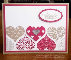 Card Creations by Beth: CASE'd Valentine's Day Card
