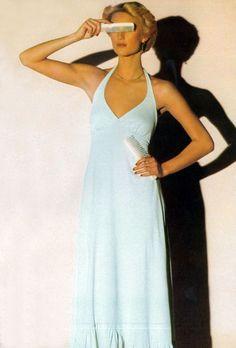 Eva Maelstrom by Eric Boman Vogue UK 1974