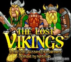 Lost Vikings ROM Download for Gameboy Advance / GBA - CoolROM.com