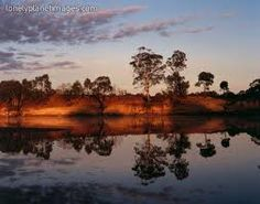 Sunset on the Murray River...