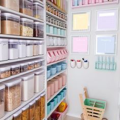 Pantry organization can give your kitchen an instant upgrade. The right pantry storage ideas can make your space both more functional and more beautiful, and these pantry organization and storage ideas and tips will help you make it happen. Kitchen Organization Pantry, Diy Kitchen Storage, Home Office Organization, Pantry Storage, Organization Ideas, Organized Pantry, Kitchen Pantry Design, Interior Design Kitchen, Pantry Room